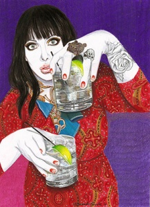 Twi Drinks One Gal, de Fernanda Guedes