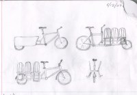 Rascunhos da bicicleta Madsen Kg271