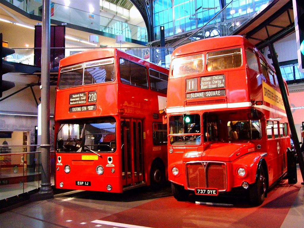 London DMS Fleetline and Routemaster