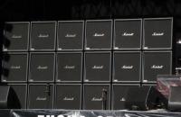 Parede de amplificadores Marshall de Jeff Hanneman