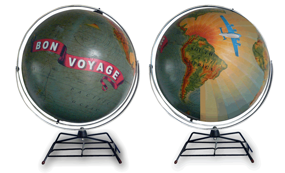 Globo Bon Voyage de Wendy Gold