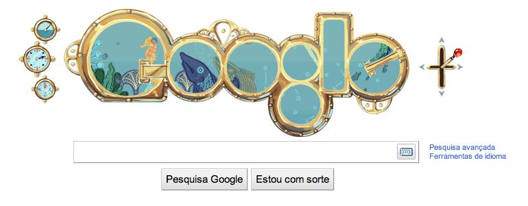 Google Doodle de Julio Verne