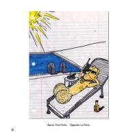 Superbad book Pool Penis drawing