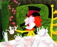 Alice in Wonderland concept art por Mary Blair