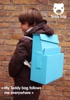 Mochila funcional Teddy Bag fechada
