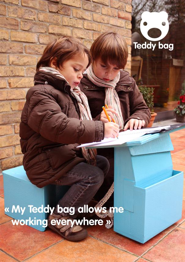 Mochila funcional Teddy Bag