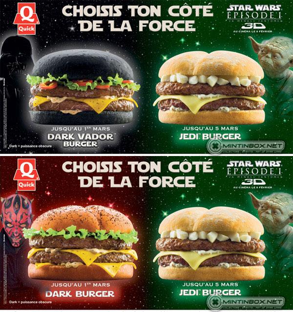 Quick Star Wars burgers
