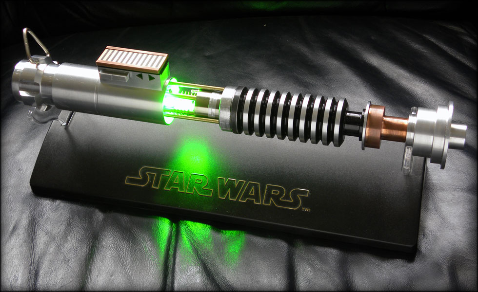 Luke ROTJ lightsaber by Brad Lewis