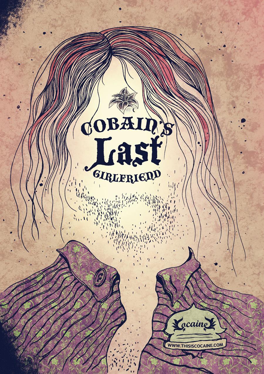 Anúncio Kurt Cobain para Cocaine