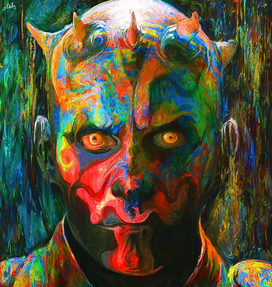artista australiana Nicky Barkla faz bons exemplares de pop art ...: caderninhodeideias.wordpress.com/2012/04/27/arte-pop-psicodelica-de...