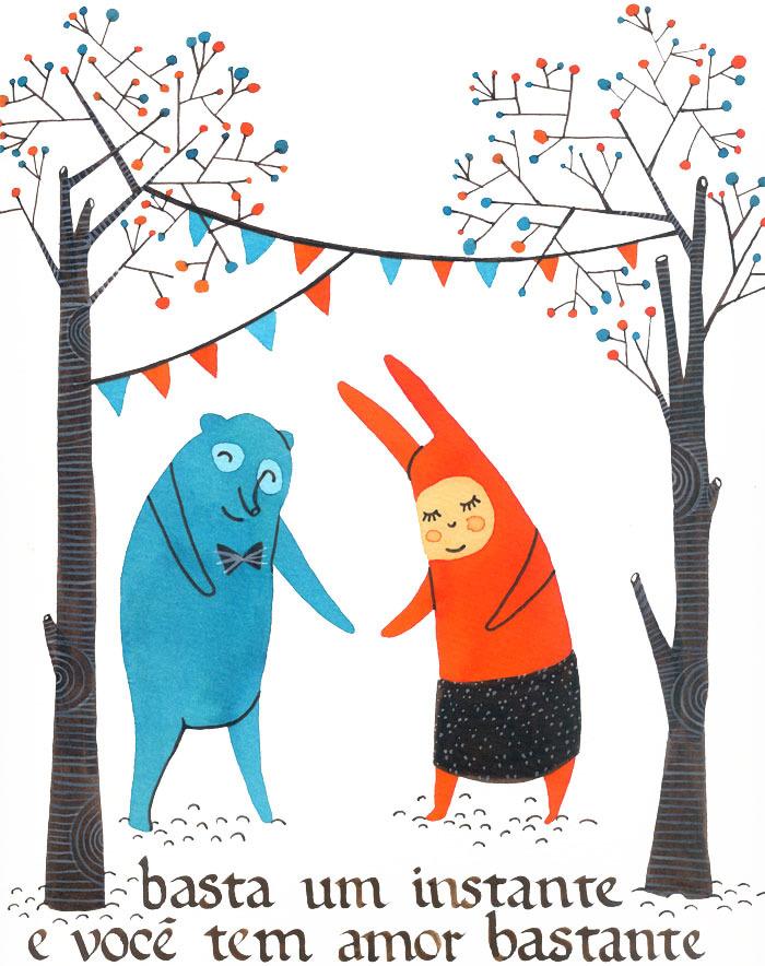 Ilustração de Elisa Carareto