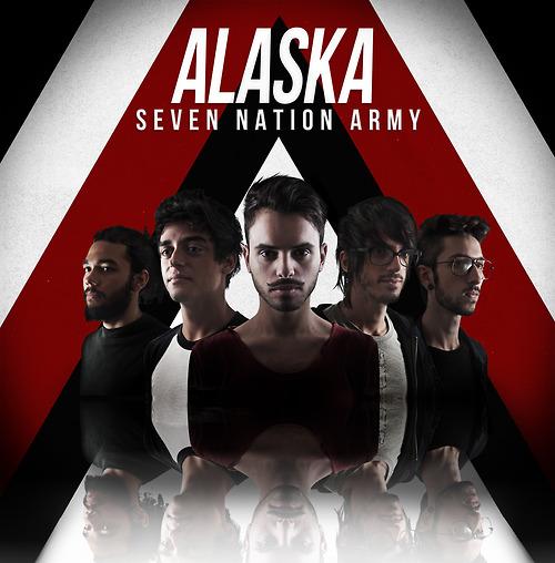Capa para o cover da banda Alaska