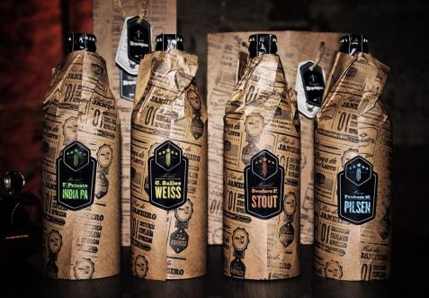 Garrafas - Cervejaria República