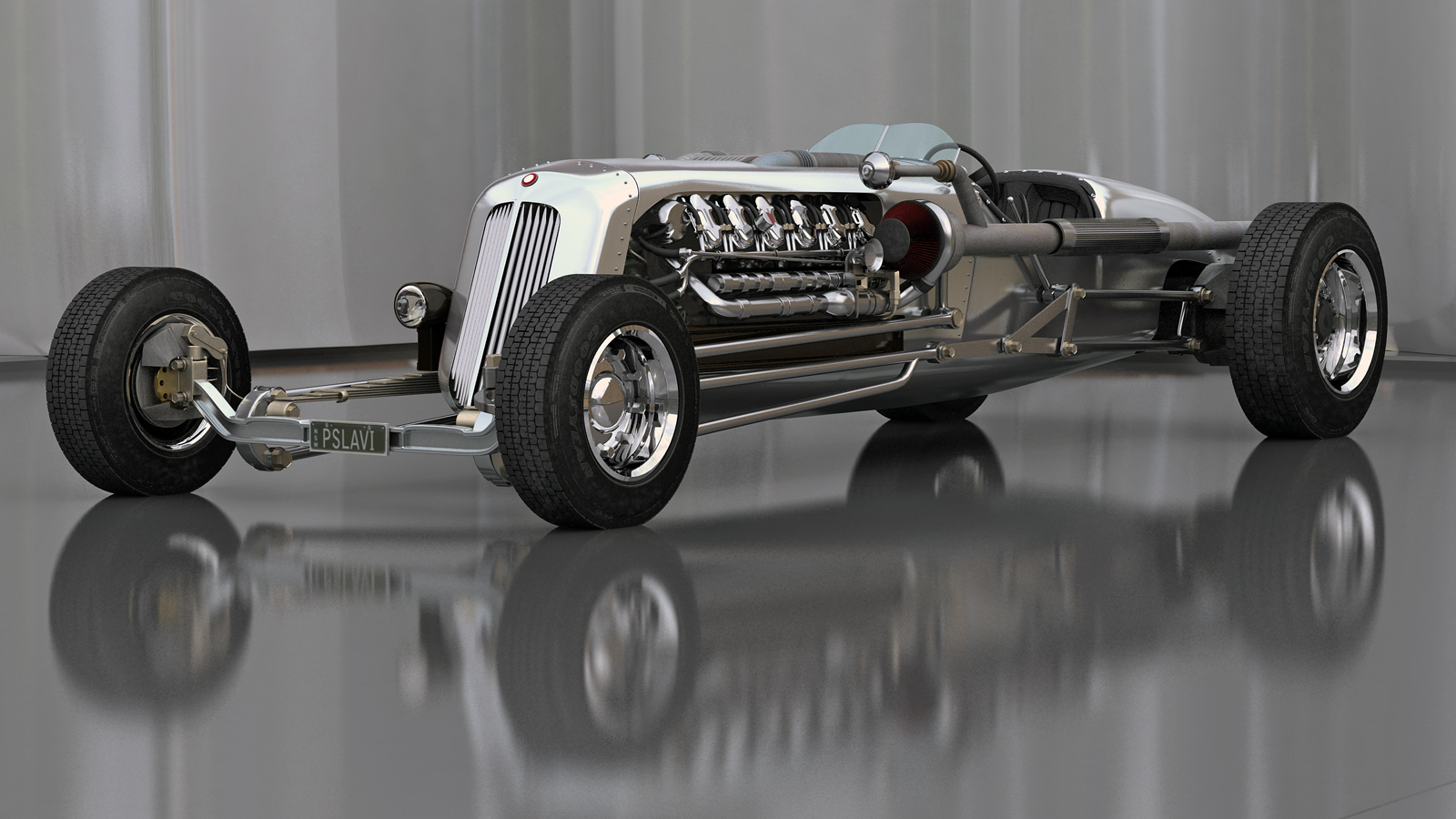 Fourtitude com - Packard, Ford, Rolls Royce, and a V12