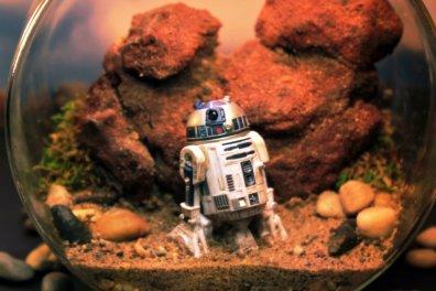 R2-D2 em Tatooine