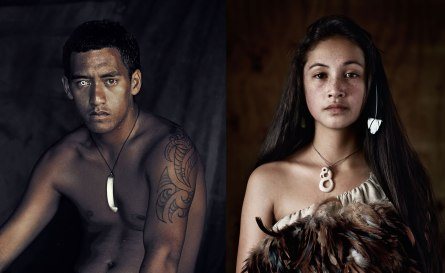 Jovens Maori, da Nova Zelândia