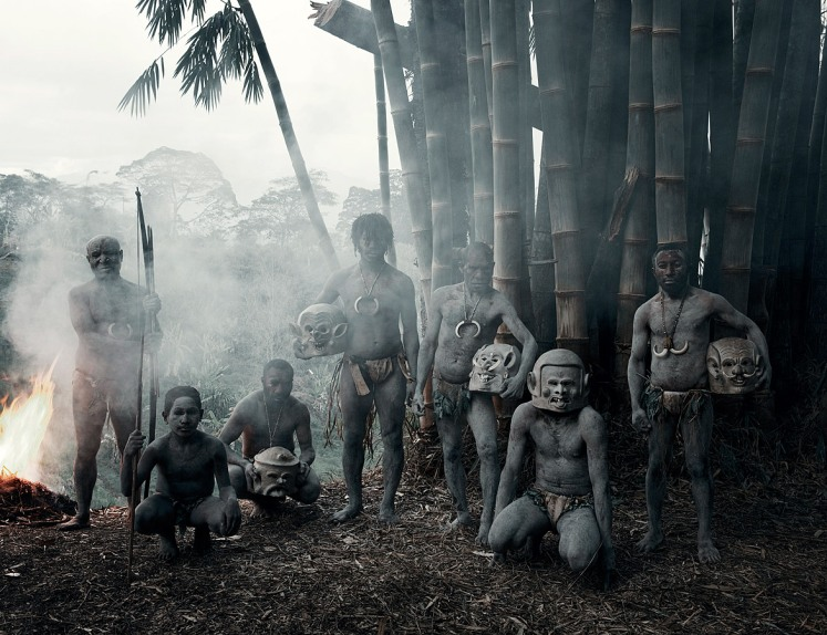 Tribo Asaro, da Papua Nova Guiné
