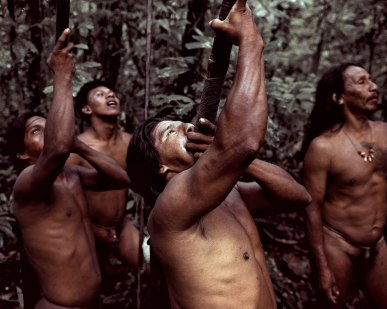 Tribo Huaorani, da Argentina e Equador