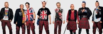 Fãs em show do Sex Pistols