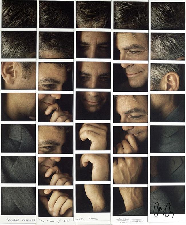 Polaroid-Portraits-Clooney