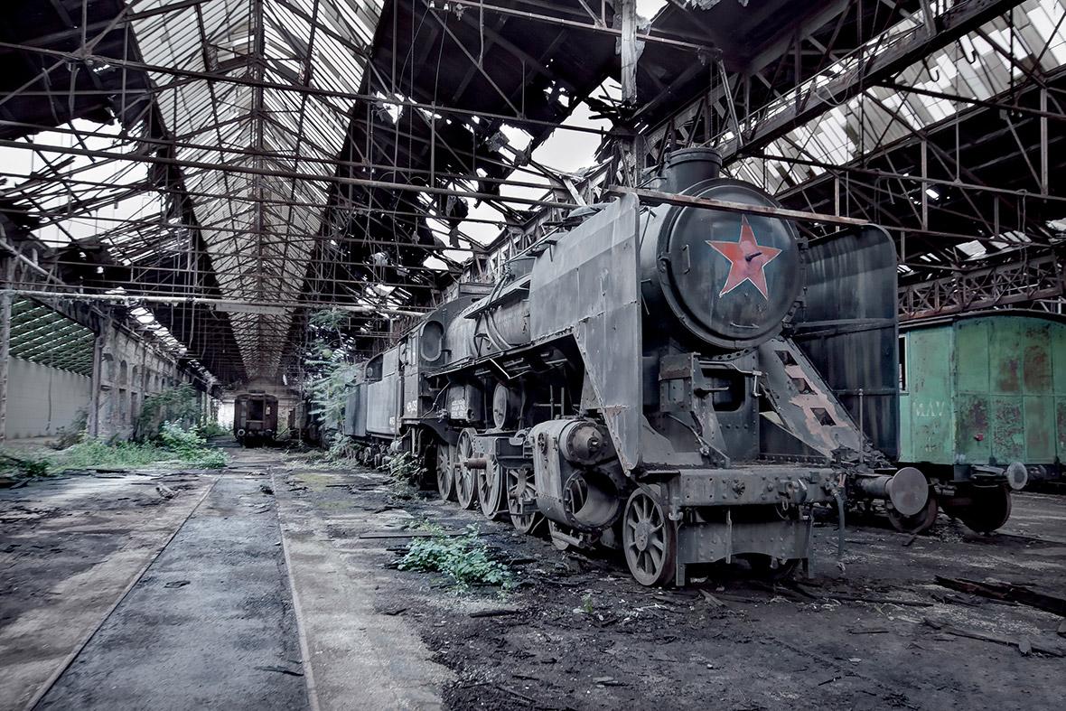 Locomotiva a vapor Máv Class 424, na Hungria