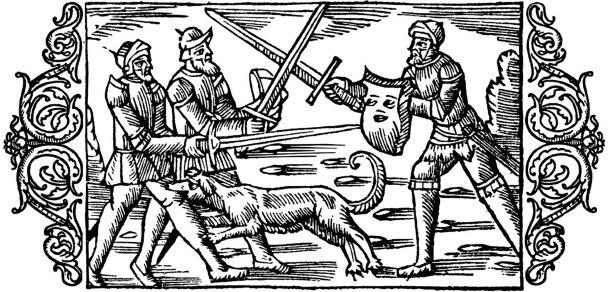 Olaus Magnus Historia om de nordiska folken. Bok 5 - Kapitel 12 - Om Ole den raske. - Utgivningsår 1555.