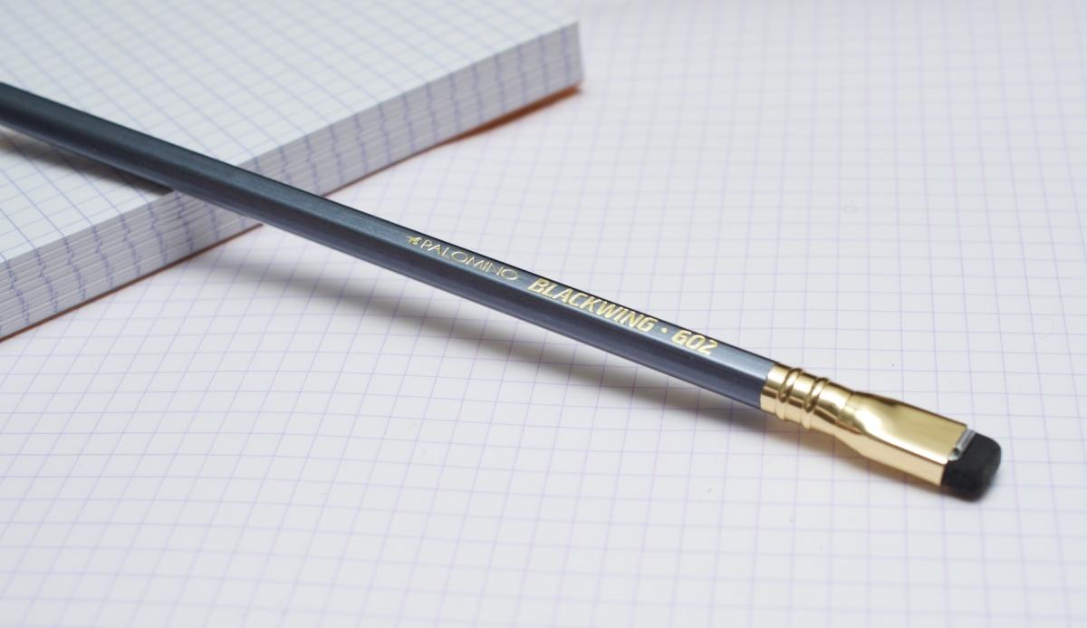 Blackwing 602, o melhor lápis do mundo