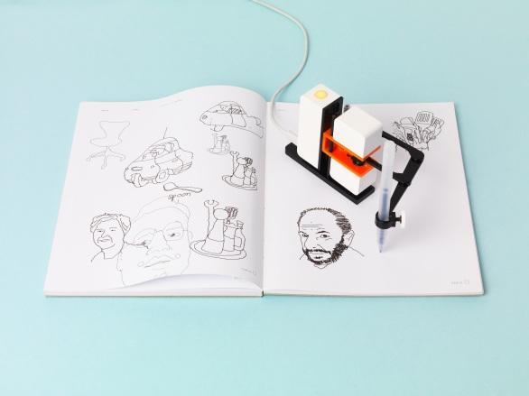 line-us-light-blue-sketchbook